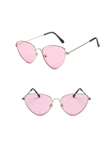 Fashion Cat Eye Metal Sunglasses
