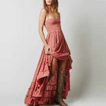 Bohemia Plain Vacation Dress