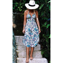 Bohemia Elastic Vacation Dress