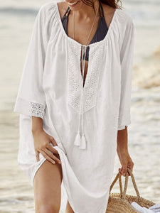 Scoop Neck  Lightweight Tunic