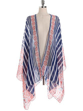 Lightweight  Multi-Way  Bohemian  Kimono Sleeve  Long Sleeve Tunic