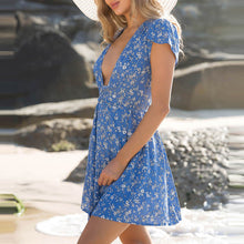 Bohemian Printing Vacation Dress