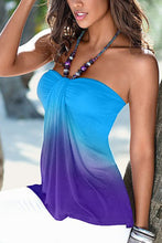 Strapless  Gradient  Vests