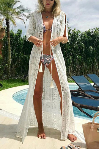 Sexy Bikini Vacation Dress Cover Ups Sunscreen Shirt