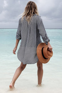 Bikini Long Sleeves Vacation Dress Cover Ups