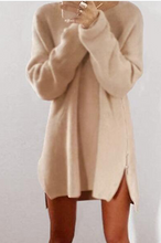 Fashion Loose Round Collar Sweater