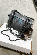 Fashion Paillette Chain One Shoulder Big Volume Bag