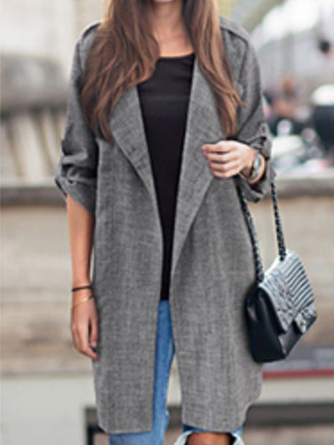 Lapel Trench Coats