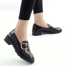 Plain  Flat  Round Toe  Date Office Comfort Flats