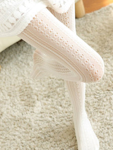Sexy Openwork See-Through  Lace Socks