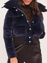 Lapel  Plain  Snow Coats