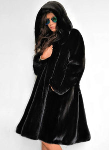 Gorgeous Hooded  Plain Coats