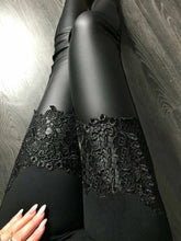 Patchwork  Lace Leggings
