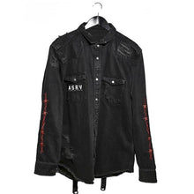 Mens Fashion Washed Denim Jacket