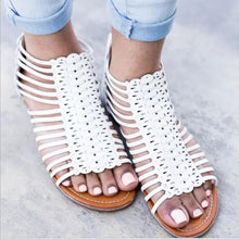 Casual Flat Hollow Roman Sandals 40-43Large Size Rome Wind Sandal