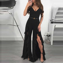 Stylish Sleeveless Wide-Leg Jumpsuit