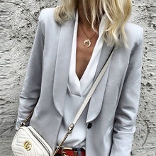 Narrow Notch Lapel Blazers