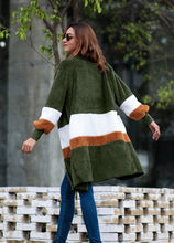 Fashion Stripe Loose Long Sleeve Cardigans