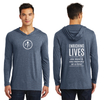 Leaders Only PC / Purpose Statement Mens Perfect Tri Long Sleeve Hoodie