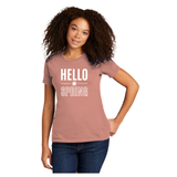 Hello Spring!  Next Level® Women's Cotton Boyfriend Tee
