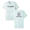 Enrichables® / Your Dishes More Nutritious Unisex Short Sleeve Tee Shirt