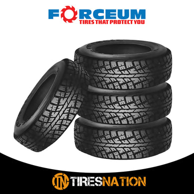 (4) New Forceum ATZ 235/75R15 105S All Terrain Off-Road Tires