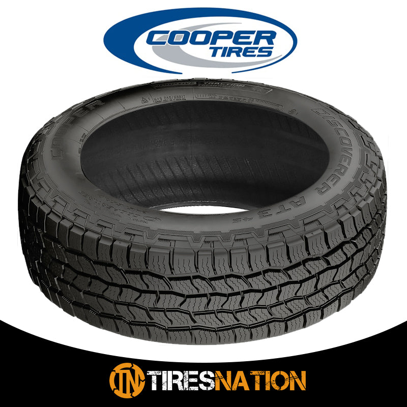 (1) New Cooper Discoverer AT3 4S 265/65R18 114T Tires