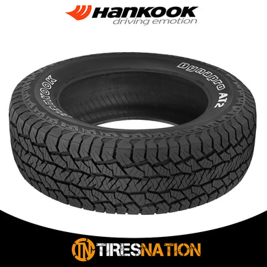 (1) New Hankook DYNAPRO AT2 RF11 265/70R17 115T OWL Tires