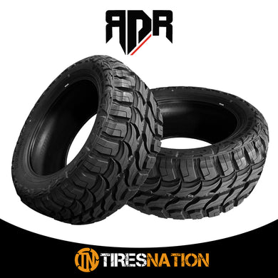 (2) New RDR Red Dirt Road RD-6 33X12.50R22LT 109Q 10PR All Terrain MT Mud Tires