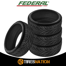 (1) New Federal SS595 235/35ZR19 Tires