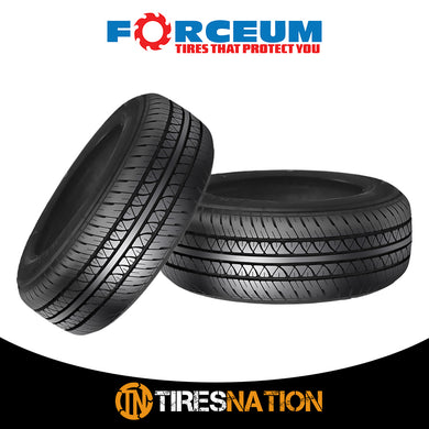 (2) New Forceum ULTRA 165/80R13 83T All season Performance Tires
