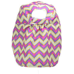 Ziggy-zigzag aztec patterned childrens legionnaires hat UPF50+ get flapped-back
