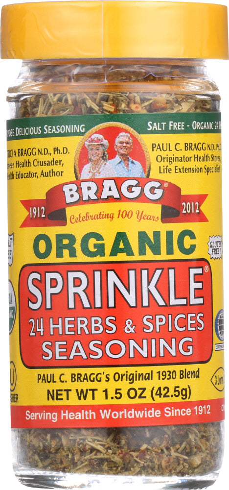 BRAGG: Organic Sprinkle 24 Herbs and Spices Seasoning, 1.5 oz