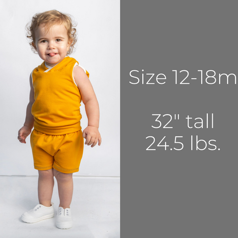 Hooded Tanks - Size 12-18m