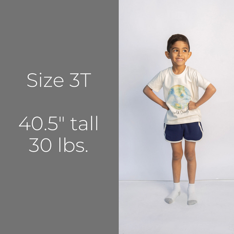 Track Shorts - Size 3T