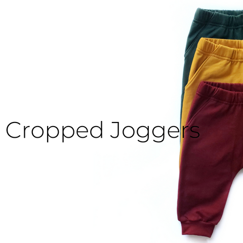 Cropped Joggers - Size Guide