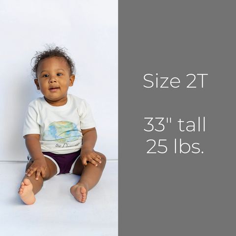 Track Shorts - Size 2T