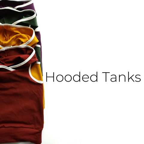 Hooded Tanks - Size Guide