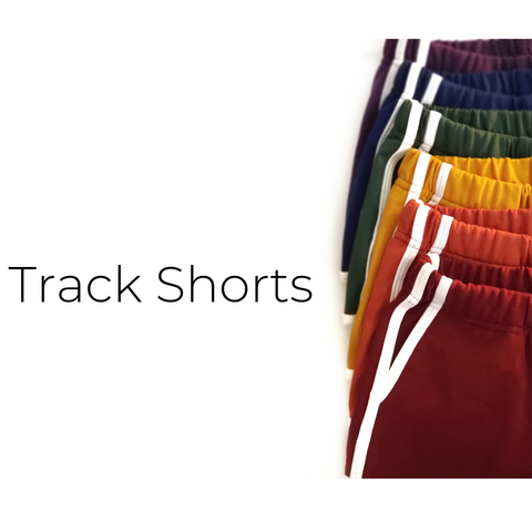 Track Shorts - Size Guide