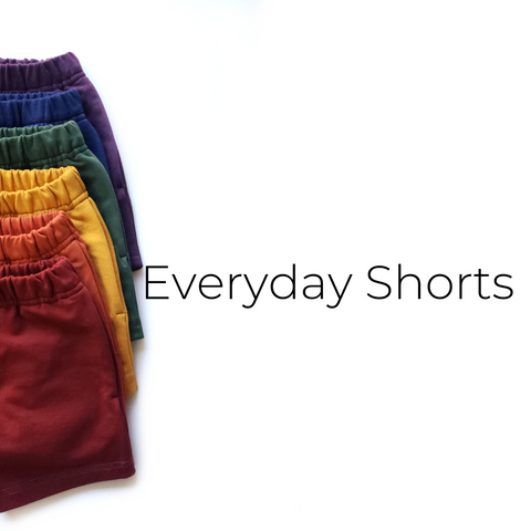 Everyday Shorts - Size Guide