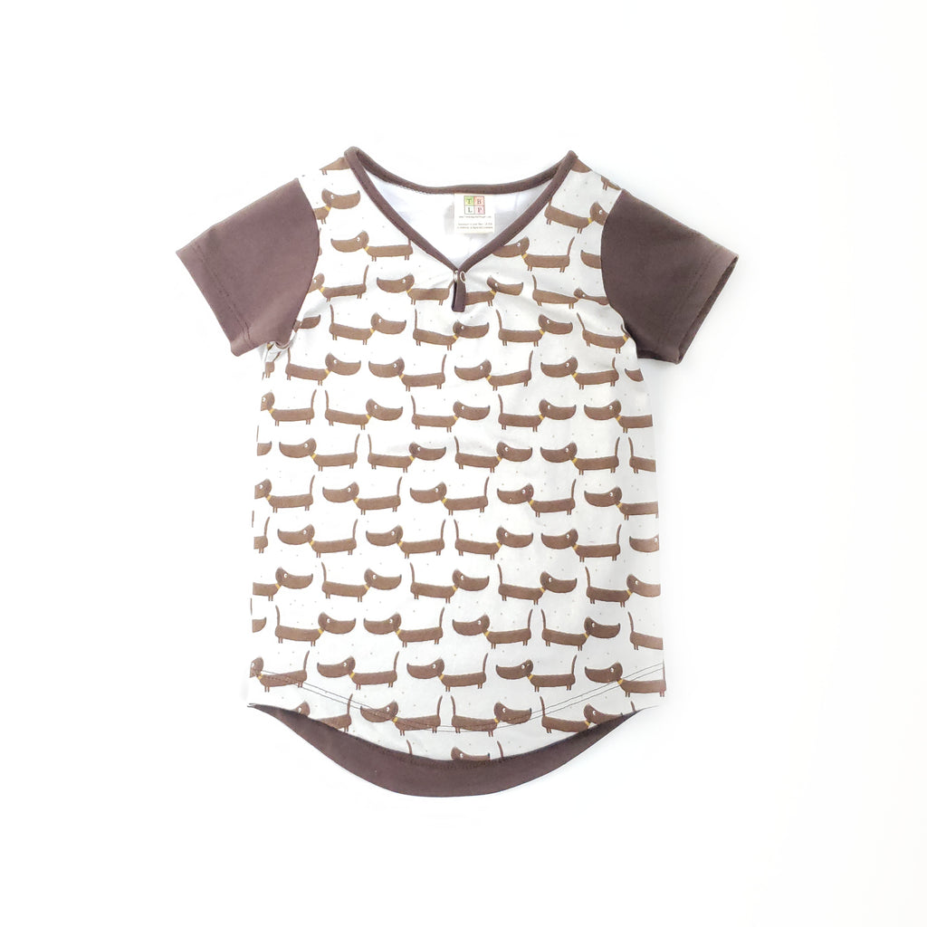 Curved Hem Tee - Size 12-18 Months