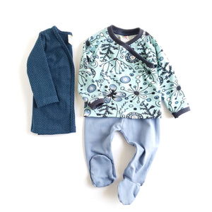 Slim Cardigan and Footie Leggings Set - Size 3-6 Months