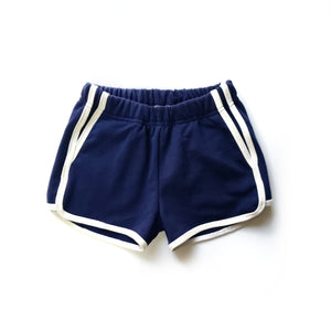 Track Shorts in Save Our Oceans - Front view