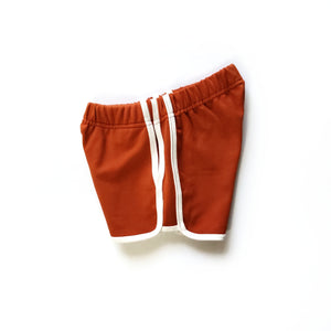 Track Shorts in Daydream Believer - Side view