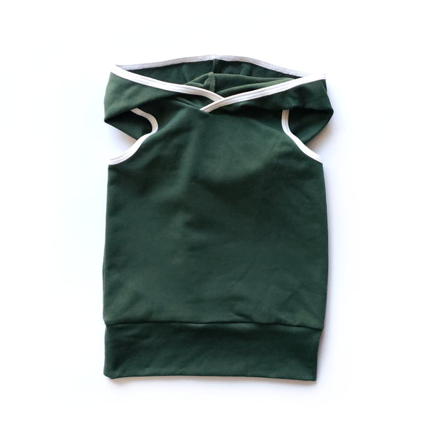 Hooded Tank in Recycle 1