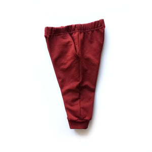 Cropped Joggers in Follow Your Heart - Side view