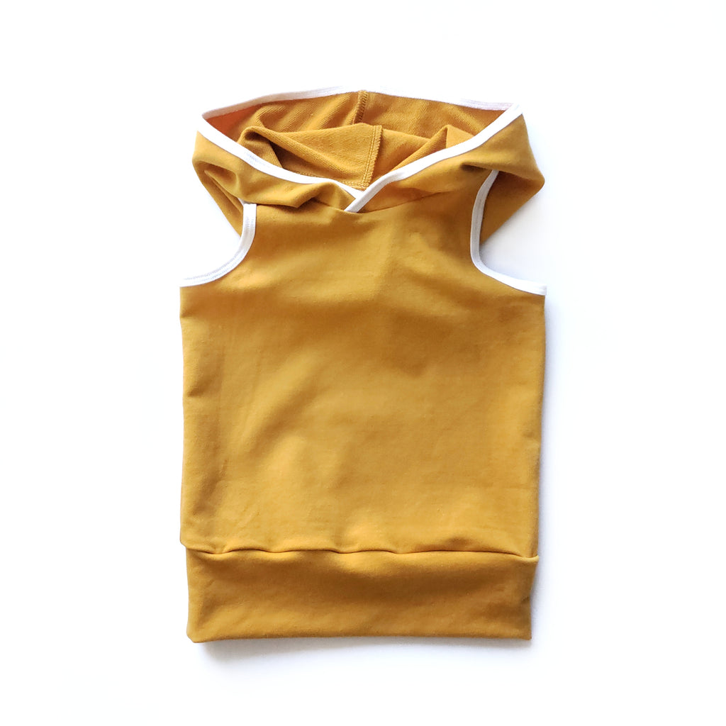 Hooded Tank in Big Idea - Front view