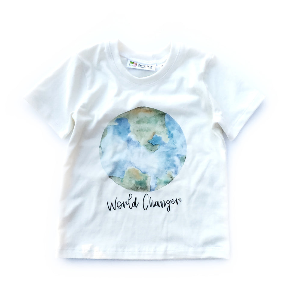 Printed Tee - World Changer