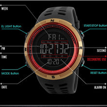Load image into Gallery viewer, Men's Digital Sport Watch