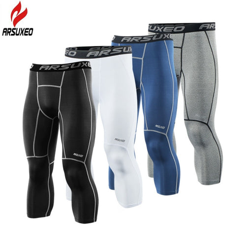 New Men's Running Tights